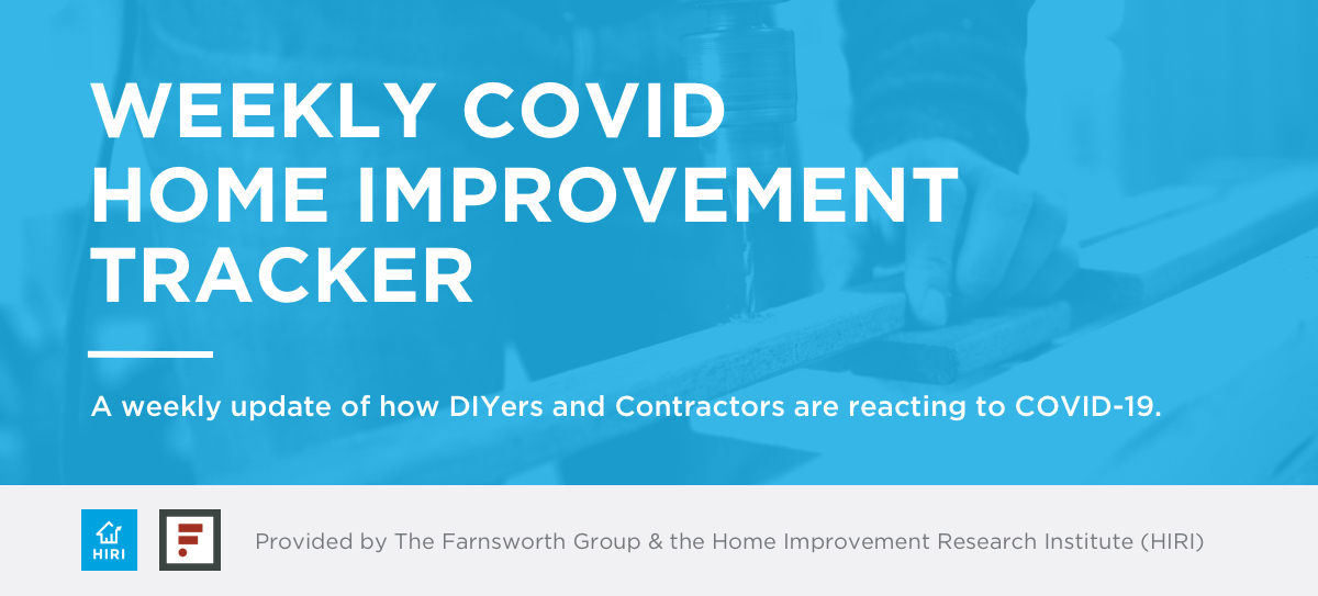 COVID-19 Home Improvement Tracker